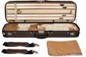 Steinbach 4/4 Geigenkoffer Rechteckmodell braunbeige mit Rucksackriemen