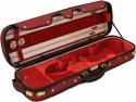 Steinbach 4/4 Geigenkoffer de Luxe Rechteckmodell rot-rot