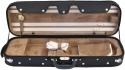 Steinbach 4/4 Geigenkoffer de Luxe Rechteckmodell in braun