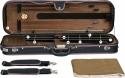 Steinbach 4/4 Geigenkoffer Rechteckmodell braun mit Rucksackriemen