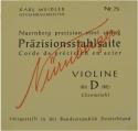 N�rnberger Pr�zision D-Saite 4/4 Geige/Violine Chromstahl umsponnen mittel