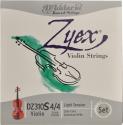 D`Addario Zyex Saitensatz 4/4 Geige/Violine E-Saite Carbonstahl verzinnt dünn