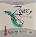 D`Addario Zyex Saitensatz 4/4 Geige/Violine E-Saite Stahl verzinkt dünn