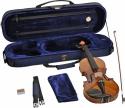 Steinbach 3/4 Geige im SET Ebenholzgarnitur poliert angeflammter Boden