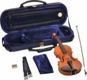 Steinbach 1/32 Geige im SET Ebenholzgarnitur angeflammter Boden Orangebraun