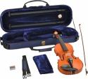 Steinbach 4/4 Geige im SET Ebenholzgarnitur angeflammter Boden Orangebraun