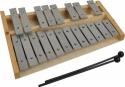 Steinbach Glockenspiel 20 Klangplatten silber chromatisch Tonumfang c''- g''''