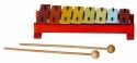 Basix Glockenspiel G8 8 bunte Klangplatten diatonisch ABVERKAUF