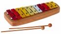 Basix Glockenspiel GH11 11 bunte Klangplatten diatonisch