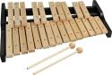 Steinbach Xylophon mit 25 Klangplatten natur zweireihig