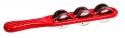 MEINL Jingle Stick rot mit Nickel-Silberschellen- Ausverkauf