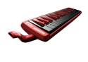 Hohner Fire Melodica 32 Tasten rot inkl. Anblasschlauch