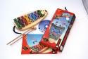Hohner Glockenspiel Set Spiel mit Musik inkl. Spielheft und CD