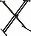 Stagg KXS-A6 Keyboardständer doppelstrebig 69-99 cm schwarz bis  50 kg