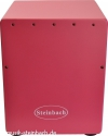Steinbach 3/4 Cajon pink mit Tasche