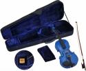 Steinbach 1/8 Geige im SET blau handgearbeitet