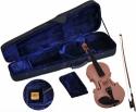 Steinbach 1/8 Geige im SET pink handgearbeitet