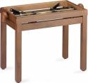 Stagg PB39 CH M Klavierbank in Kirsch matt