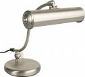 Steinbach Klavierlampe klassisch in Nickel matt Qualität made in Germany