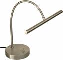 Steinbach LED Klavierlampe Platin matt mit Flexarm Made in Germany