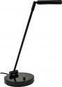 Jahn LED- Klavierlampe Staccato in schwarz hochglanz