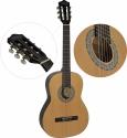 Steinbach 4/4 Konzertgitarre mit gemaserter Fichtendecke natur