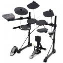 D-TRONIC E-Drumset Q-5v - Voll ausgestattetes E-Drum Set mit 8 Drumpads und kompletter Hardware