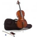 MENZEL 1/2 Cello CL201 im Set Hartholzgarnitur massive Fichtendecke ABVERKAUF