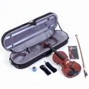 MENZEL Geige VL501 Violine Set 1/2 Fichtendecke massiv angeflammter Ahornboden, mit Comfort - Etui  ABVERKAUF