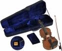 Steinbach SV-15014 LH Linkshänder Geige  Set 1/4 handgearbeitete Violinengarnitur inklusive Koffer und Bogen