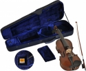 Steinbach SV-15012 LH Linkshänder Geige Set 1/2 handgearbeitete Violinengarnitur inklusive Koffer und Bogen