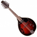 Stagg M50 E Akustik-Elektrik Bluegrass Mandoline mit Natodecke