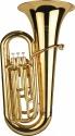 Steinbach Bb Tuba mit Marching Mundrohr umrüstbar in Marching Tuba