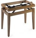 Stagg Klavierbank in Ahorn leicht poliert Modell PB 40