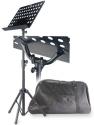 Stagg MUS-C5 T+B Orchesterpult mit Lochblechauflage Metall schwarz inkl. Tasche
