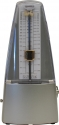 Meyne Metronom Design Serie Modell Campagne-Silver mit Glocke