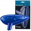 Stagg Ocarina blau Kunststoff