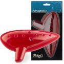 Stagg Ocarina rot Kunststoff