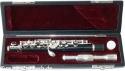 Steinbach Piccolo Flöte mit Lederkoffer SFLP-200