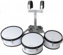 Steinbach Marching Drum Set 10 Zoll & 12 Zoll & 13 Zoll Set mit Halter