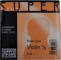 Thomastik 514 Superflexible Saitensatz 1/2 Geige/Violine E-Saite Stahl Alu umsponnen mittel