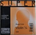 Thomastik 534 Superflexible Saitensatz 1/4 Geige/Violine E-Saite Stahl Alu umsponnen mittel