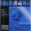 Thomastik IB100 Infeld Blue Saitensatz 4/4 Geige/Violine E-Saite Chromstahl verzinnt mittel