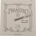 Pirastro Piranito Saitensatz 1/32 - 1/16 Geige/Violine E-Saite Stahl mittel