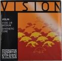 Thomastik VI100 Vision Saitensatz 1/8 Geige/Violine Nylonkern E-Saite Stahl verzinnt mittel