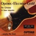 Optima Gitarrensaite E1 für E-Gitarre Kupfer