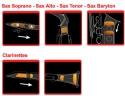 Saxmute Dämpfersystem für Sopran-Saxophon
