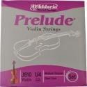 D`Addario Prelude Saitensatz 1/4 Geige/Violine E-Saite Stahl blank mittel
