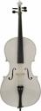 Steinbach 4/4 Cello im Set Hartholzgarnitur handgearbeitet weiß