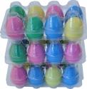 Steinbach Egg Shaker 24 Stück bunt sortiert